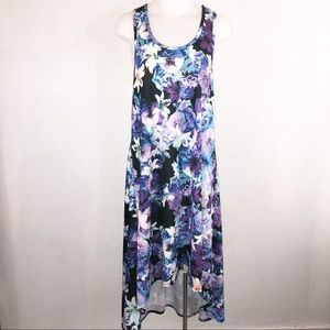 Swimsuits for All racer back hi low dress Sz 14/16